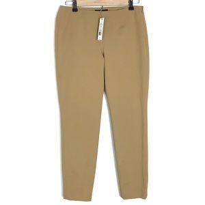 Theory NWT $245 Belisa 2 True Khaki pant Size 4